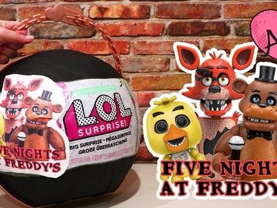 Bola gigante DIY de Five Nights at Freddy's | Muñecas y juguetes con Andre para niñas y niños
