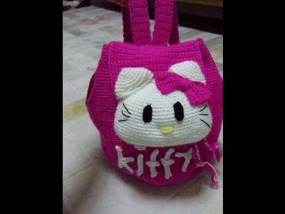 Bolso con diseño tejidos a crochet