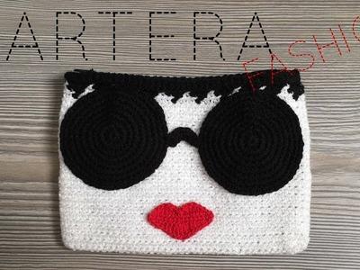 Cartera a crochet fashion