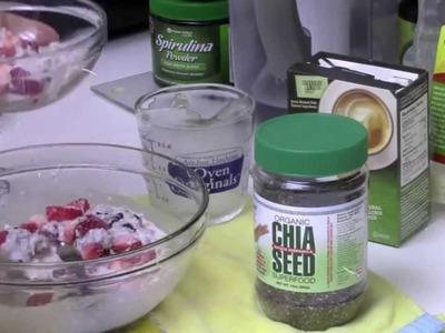 Cereal con semillas de Chia para el desayuno