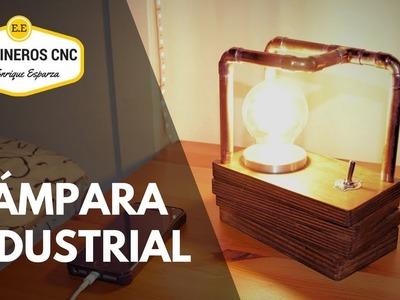 Cómo Hacer Lámpara Industrial Vintage DIY???? Tutorial