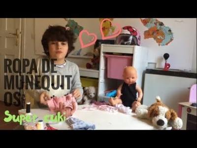 Como hacer Ropa de muñequito ???????? Celestial Capítulo 5 Manualidades para niños