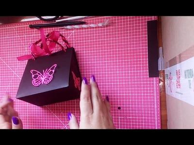 Como hacer una caja triangular