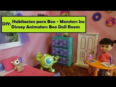 Como Hacer una Habitacion para Boo  de Monsters Inc - Diy Monsters Inc room - Disney Animators Boo
