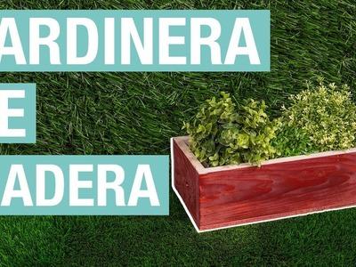 Cómo hacer una jardinera de madera · Handfie DIY