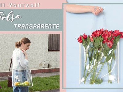 DIY bolsa transparente - Clear Tote Bag #tutorial | Carolina Llano