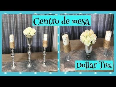 DIY-CENTRO DE MESA-DOLLAR TREE