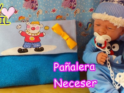 DIY Como hacer PAÑALERA para Bebe REBORN, BERENGUER,ANTONIO JUAN, BABY ALIVE Manualidades para niños