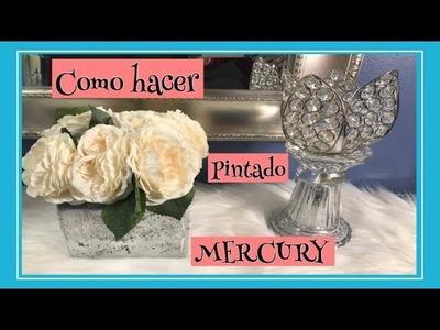 DIY-COMO HACER PINTADO (MERCURY)
