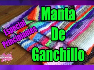 DIY. Manta De Ganchillo. Crochet Blanket