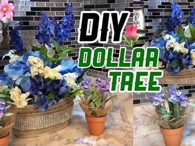 DIY  Spring Dollar Tree Decor|Decoracion Bonita Para Primavera|Nady