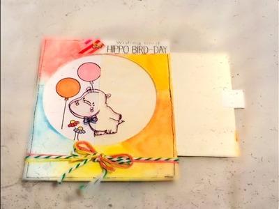 DIY: Tarjeta mágica sorpresa. card making. para regalar