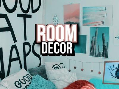 DIY URBAN OUTFITERS.Decoró mi cuarto con poco dinero