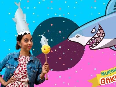 Gorro de tiburón ????Tutorial facil DIY disfraz de tiburón