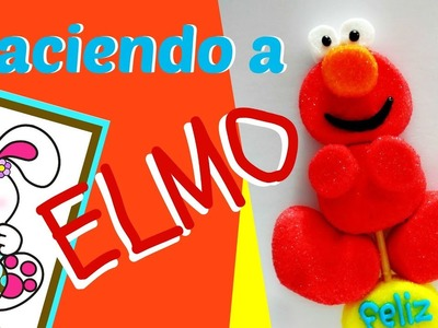 Haciendo a Elmo - El más tierno, divertido y Fácil que has visto!