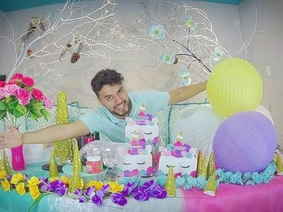 #ideas para #Fiesta #unicornio , (compras ,y materiales para decorar)????????????????????????????