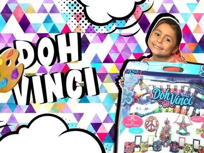Jugando con DOH VINCI ????????????????. Play-doh. Manualidades para niñas