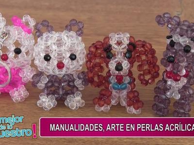 LO MEJOR DE LO NUESTRO: Manualidades, arte en perlas acrílicas
