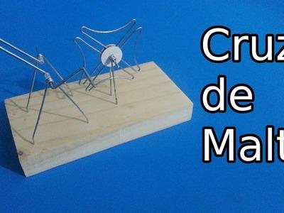Modelo de Mecanismo de Cruz de Malta o Rueda de Ginebra