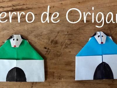 PERRO de papel con caseta | ORIGAMI fácil para niños