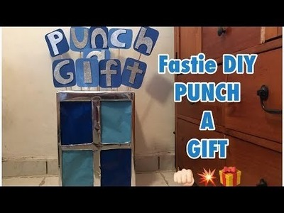 Punch a gift♥ ft. Susy - DIY by Tayi