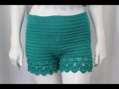 Short Crochet Fácil para tejer paso a paso