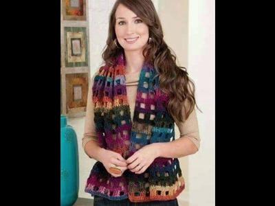 Tapados tejidos a crochet o ganchillo para mujer