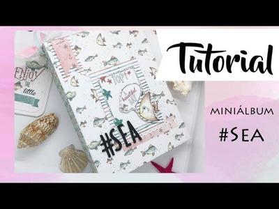 Tutorial: miniálbum #Sea, colaboración con La Tienda de las Manualidades
