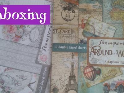 Unboxing Graphic 45 y Stamperia - papeles que no vuelvo a comprar