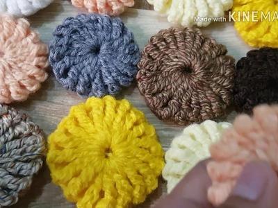 Union de las flores puff o yoyo
