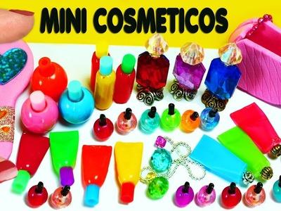 ???????? 10 Productos de Maquillaje. Cosméticos en Miniatura  DIY- 10  -  Manualidades Para Muñecas