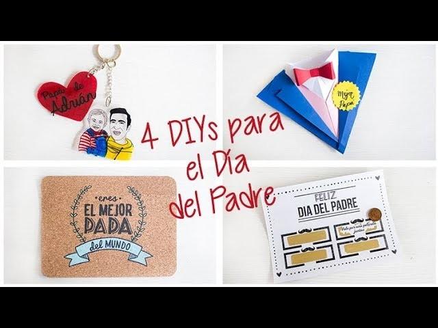 4 regalos para el Día del Padre DIY - Hazlo tú mismo