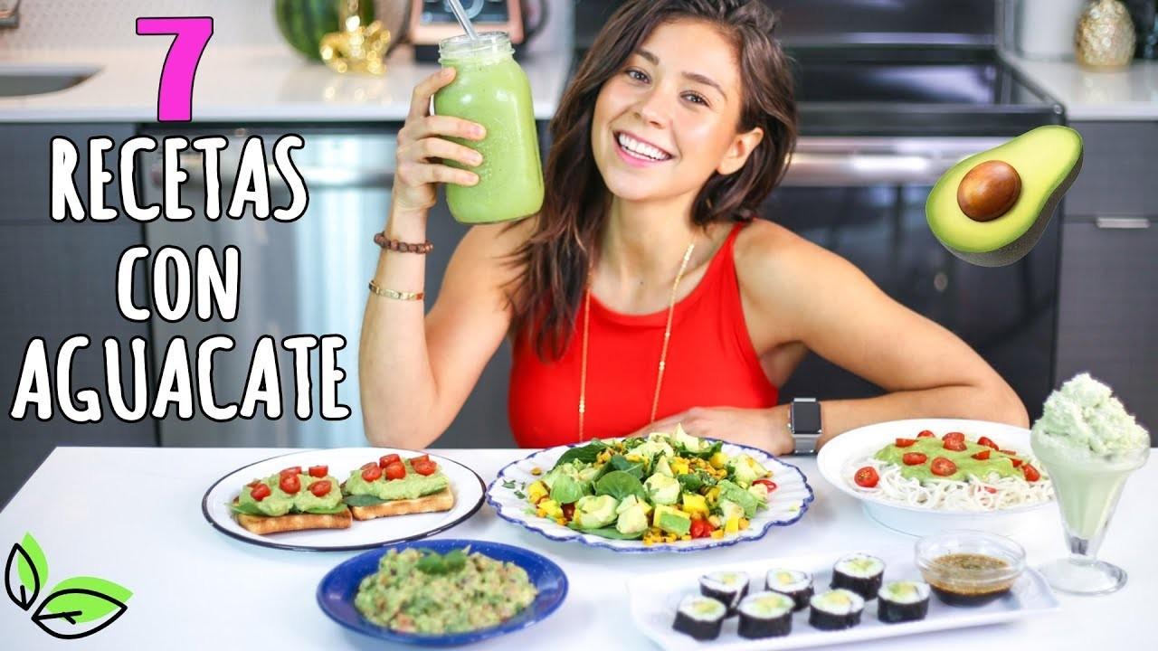 7 RICAS RECETAS CON AGUACATE!????Vegano y Fácil | Rawvana