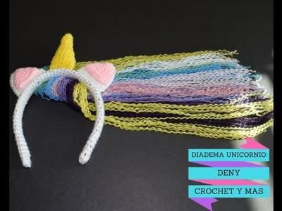 Como hacer el Cuerno de Diadema Unicornio en crochet