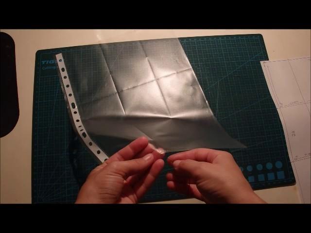 Como hacer una funda de pocket letter