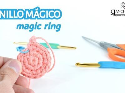 Curso de amigurumi (6) - Cómo hacer el anillo mágico (AM)