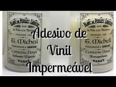 DIY | Adesivo de vinil