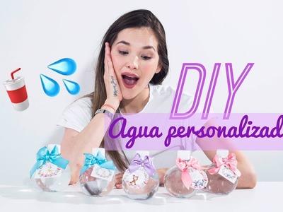 DIY Agua para fiestas - Marcia Jones