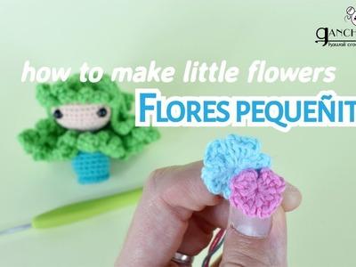 Flor crochet sencilla ???? - Aprende cómo tejer una flor crochet paso a paso