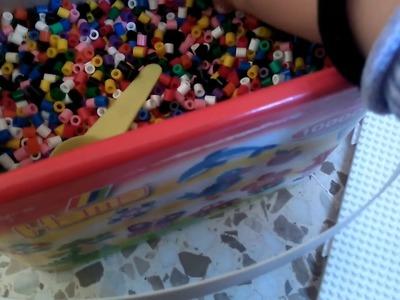Hama beads el conejito 1pr