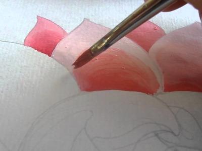 IV Pintando a flor de lotus por Tiffani H Gyatso - 4 de 8