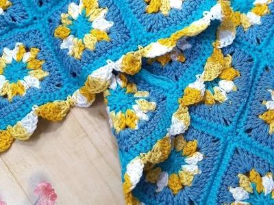 MANTA ???? a crochet para bebe