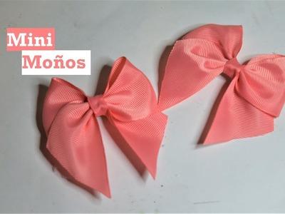 Mini moño Rápido - Tutorial - DIY - AnabelMonGar