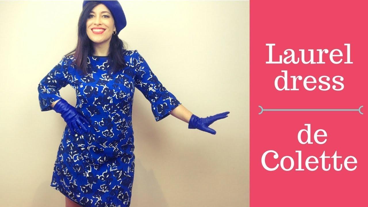 Patrón Laurel dress, el vestido recto perfecto!
