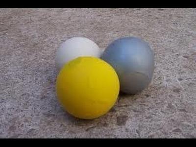 Pelotas con globos