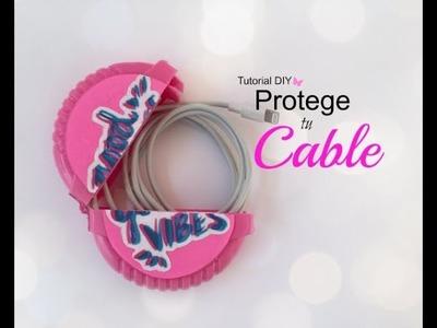 Protege tus cables ♡ Tutorial DIY