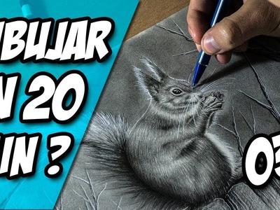 ¿Qué se puede Dibujar en sólo 20 Minutos? - Tutorial de Dibujo 03