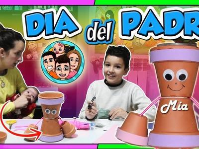 REGALO DÍA DEL PADRE ???????????? IDEA DIY Manualidades con Hijos y Niños | NeNo Family Vlogs |