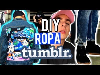 RENUEVA Y PERSONALIZA TU ROPA VIEJA| DIY.PARTE 3