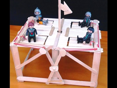 Trampilla Infernal. Manualidades para niños